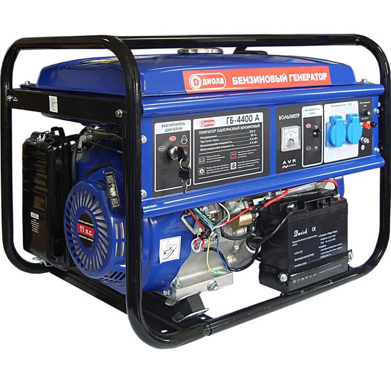 Электрогенератор бензиновый 5квт